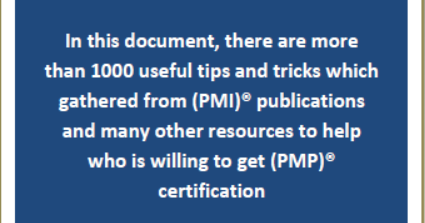 Want to be a (PMP)® with 1250 memorizing notes - ENGINEERING MANAGEMENT