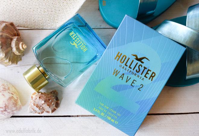 Wie riecht das neue Hollister Wave 2 For Him, neues Männer Parfüm