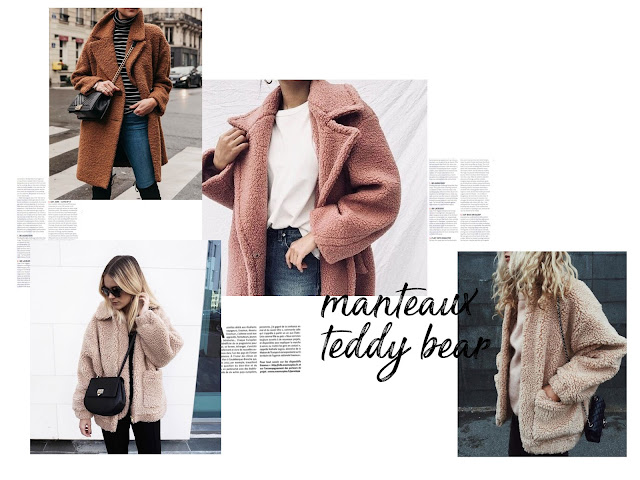 teddy bear manteau