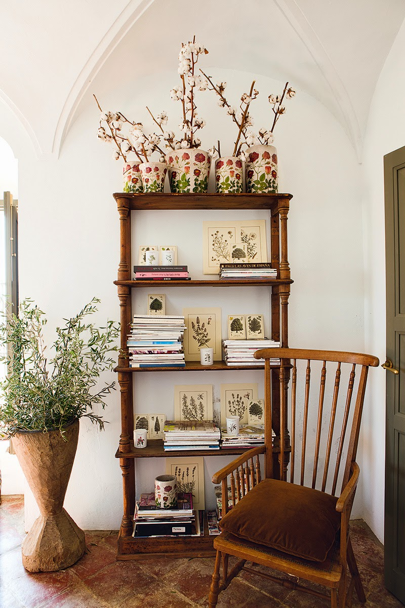 Decor inspiration eugenia silva casa in extremadura - Decoracion de interiores vintage ...