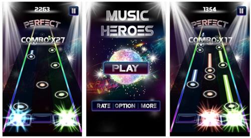 game musik seperti guitar hero di android