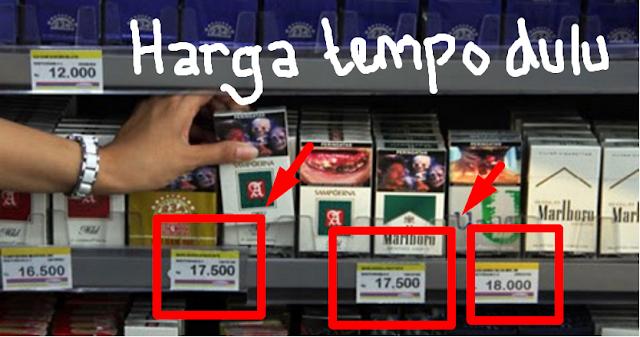 Mulai 1 September 2016 Rokok Resmi Naik Harga..? Berikut Harga-Harga Rokok Yang Akan Naik  Berdasarkan  Lebel Mereknya Besert....