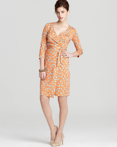Danish Crown Princess Mary wore Diane Von Furstenberg Floral Print Dress. Style of Princess Mary