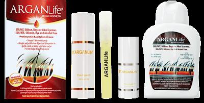 argan life herbal shampoo