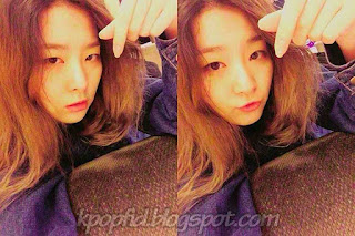 Foto Kang Seulgi Red Velvet Selca Tanpa Make Up