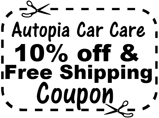 10% off Autopia Car Care Coupon March, April, May, June, July, August, September