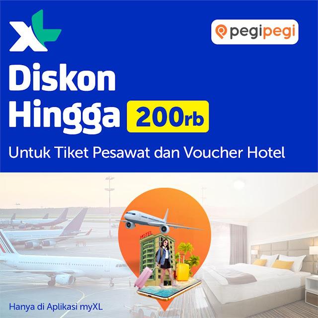 #XL - #Promo Diskon 30K di Eatigo & Diskon Hingga 200K di PegiPegi