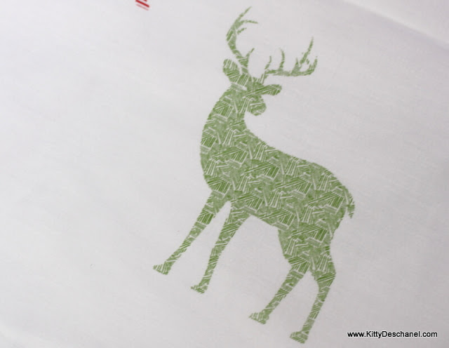 deer interior design fabric