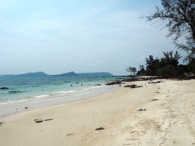 Nature beach, Koh Rong, Cambodia