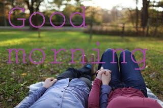 romantic good morning image for gf