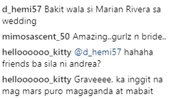 Marian Rivera Was Absent At The Solinap-Pangilinan Wedding Because Of A Very Important Reason!Marian Rivera Was Absent At The Solinap-Pangilinan Wedding Because Of A Very Important Reason!