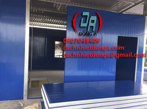 nhà lắp ghép bằng tấm panel