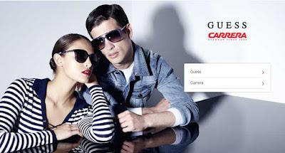 Gafas de sol de las marcas Guess y Carrera de oferta en mayo 2017