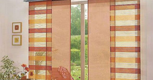 Stylish Japanese curtains panels for door and windows