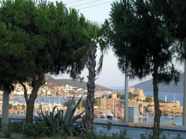 Bodrum panorama miasta