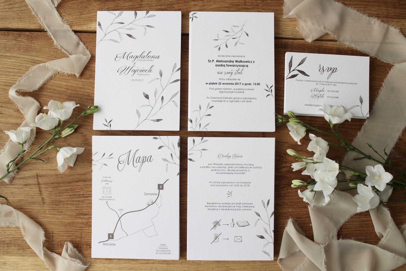 Zaproszenia ślubne Diy W Stylu Rustykalnym Design Or Breakfast