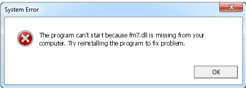 Télécharger Fm7.dll Fichier Gratuit Installer