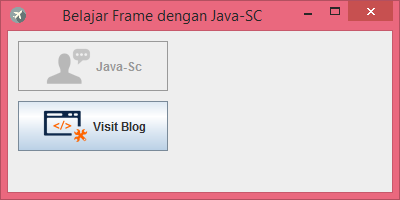 Gambar 4 - jButton Pada Komponen Swing Di Java