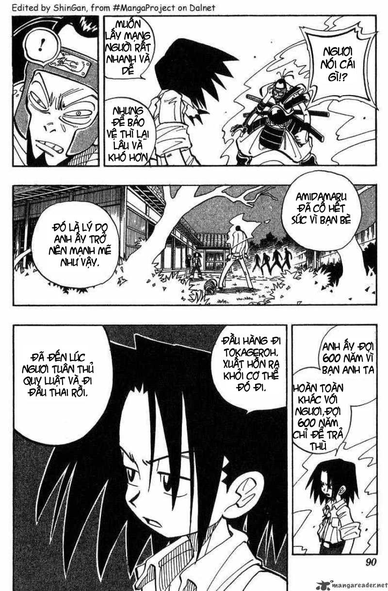 Shaman King [Vua pháp thuật] chap 22 trang 3