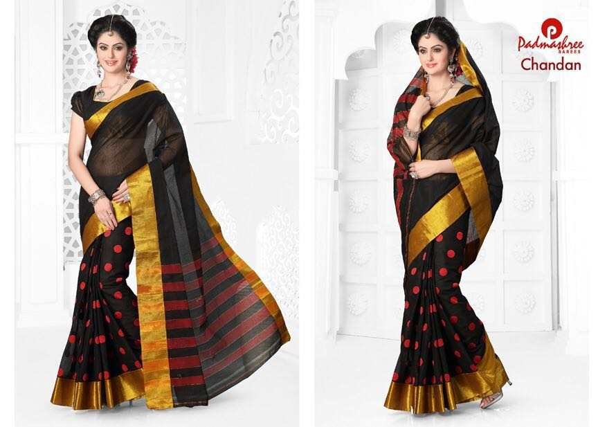 Vipul 6 – Beautiful Silk Cotton Saree