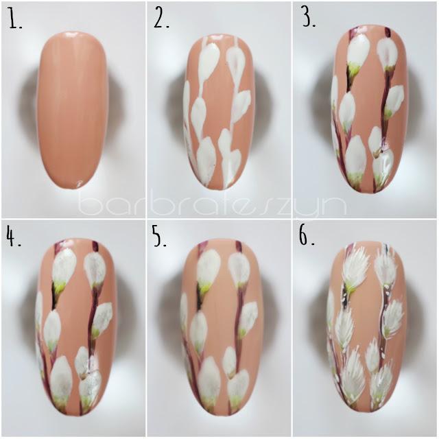 bazie na paznokciach