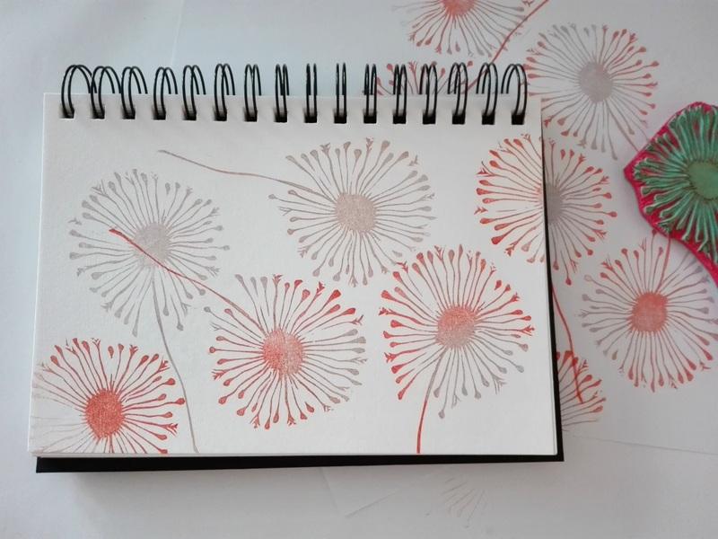 dandelion stamp