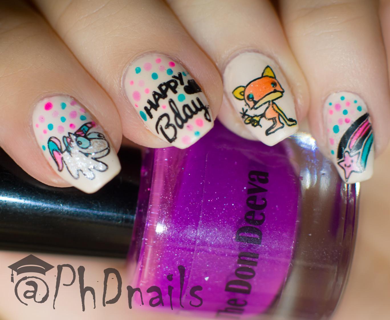 PhD nails: \