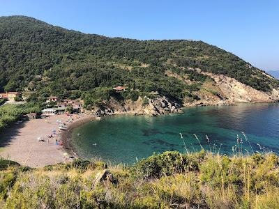 Nisportino beach from Punta delle Casette.
