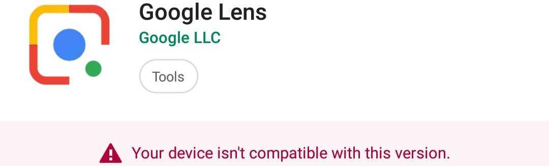 Google Lens app 2018