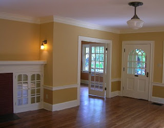 interior paint estimation doors windows