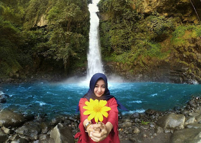 Wisata Terbaru Air Terjun Coban Jahe kabupaten Malang