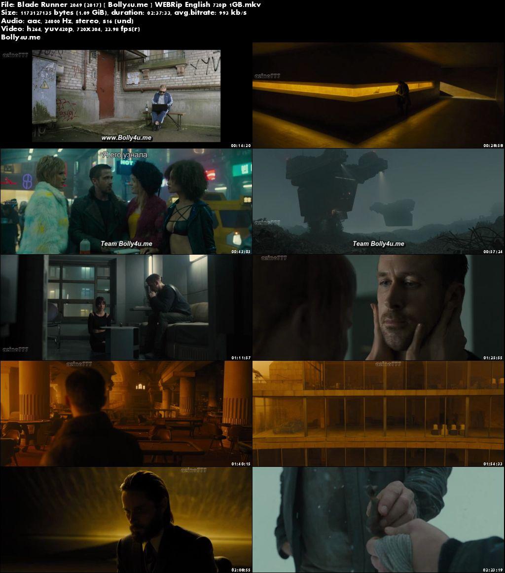 Blade Runner 2049 (2017) WEBRip Full English Movie Download 720p