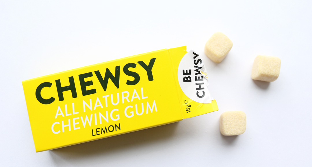 Chewsy Chewing Gum in Lemon