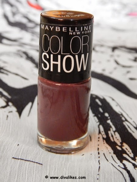 About Maybelline Color Show Nail Lacquer Midnight Taupe