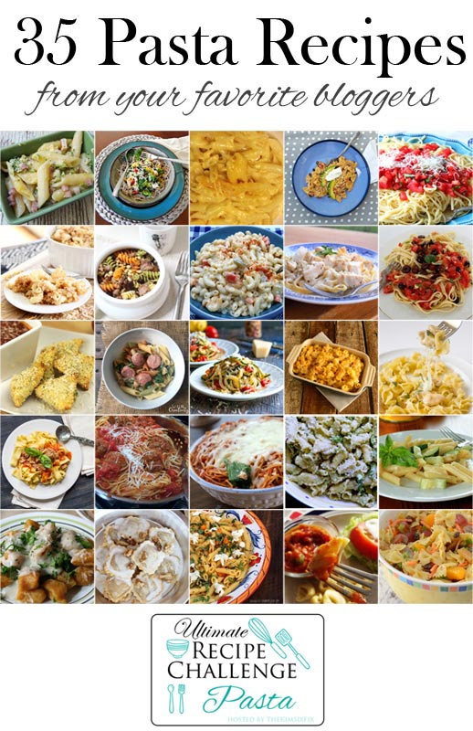 35 plus pasta recipes favorite bloggers