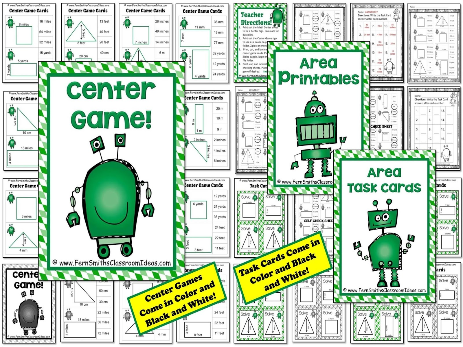 Hump Day Highlight Area And Perimeter Resources Amp A Few