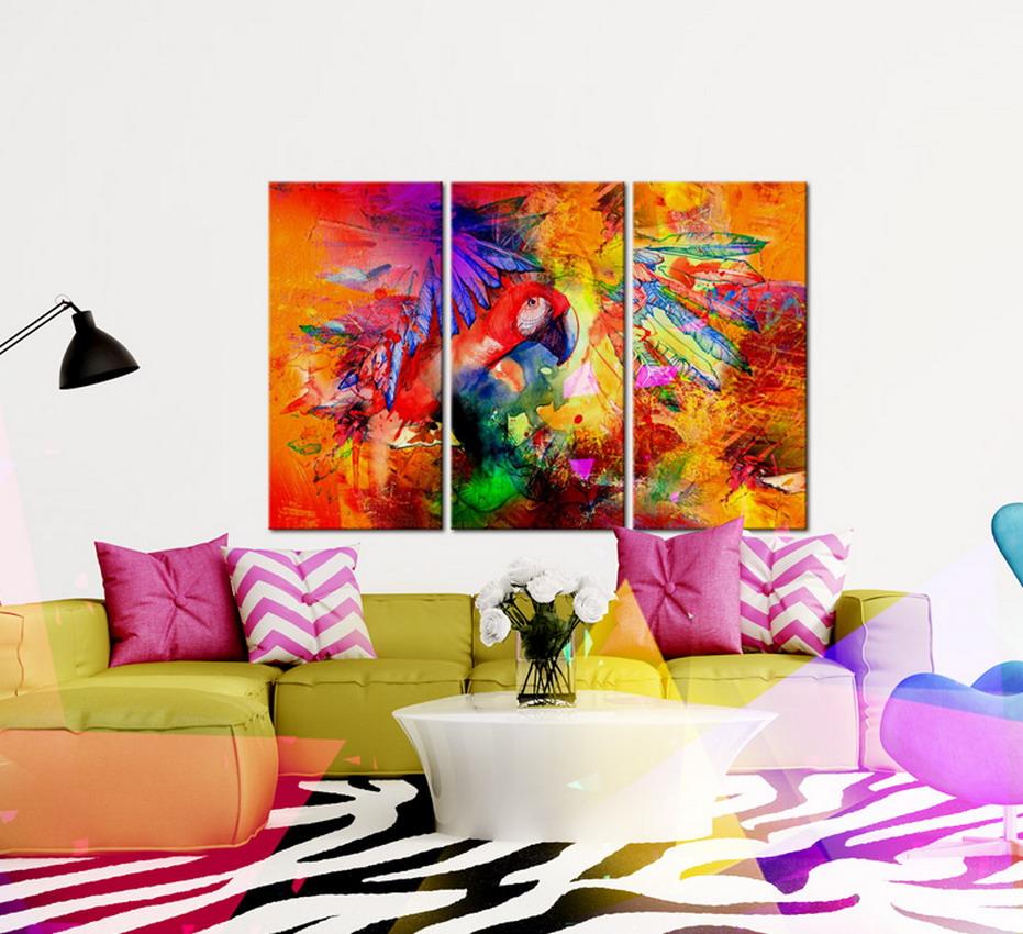 Cuadros pinturas oleos decoraci n moderna cuadros para for Lienzos para salon modernos