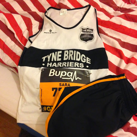 Great North Run 2014:race report