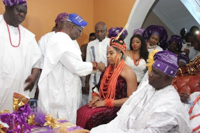 ooni of ife wedding ceremony to Wuraola Zynab Otiti in Benin