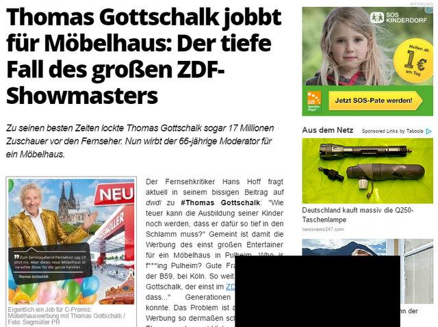 Augsburger Skandal Zeitung 16012017