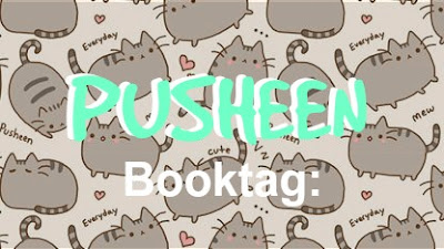 PUSHEEN Booktag