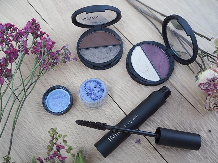 inika Vegan Make-Up Eyeshadow und Mascara