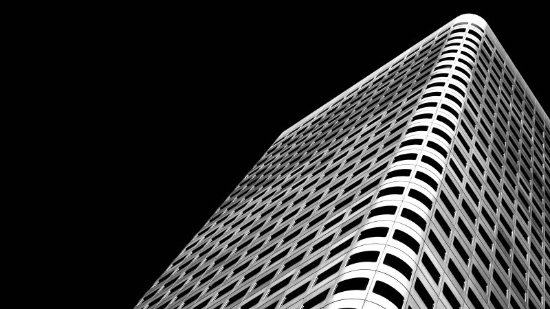 Silberturm Building in Frankfurt, Germany