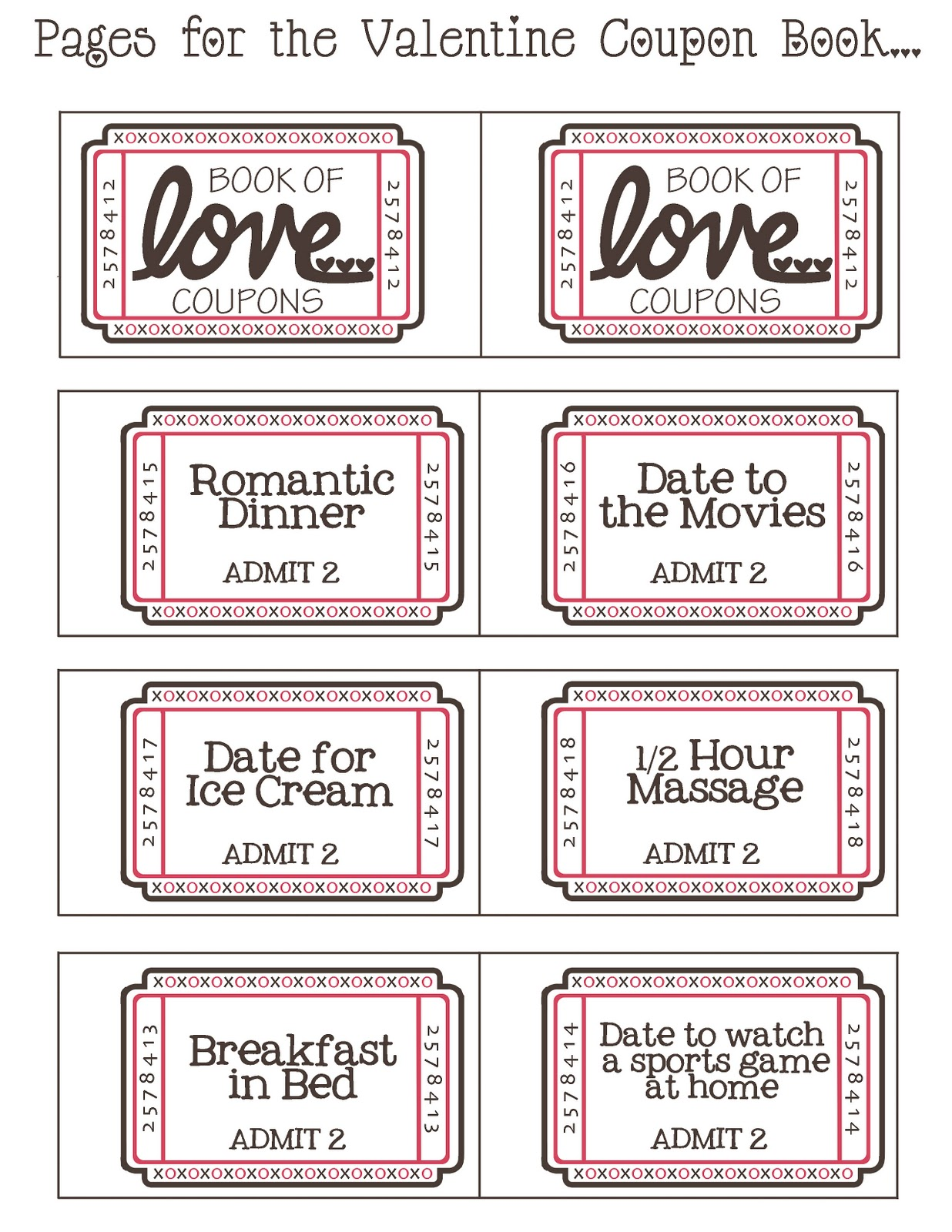 photograph relating to Free Printable Kinky Coupons called Cost-free printable naughty valentines working day discount codes