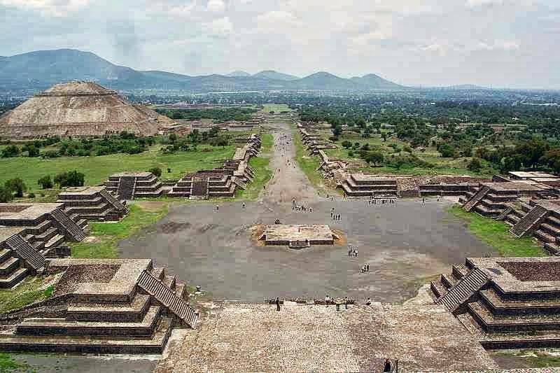 teotihuacan,mexico,wisata meksiko,kota hilang
