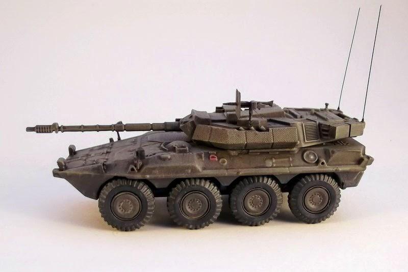 4fe9571f05 Gulumik Military Models  B1 Centauro 1 72 rebuilt repainted Amercom ...