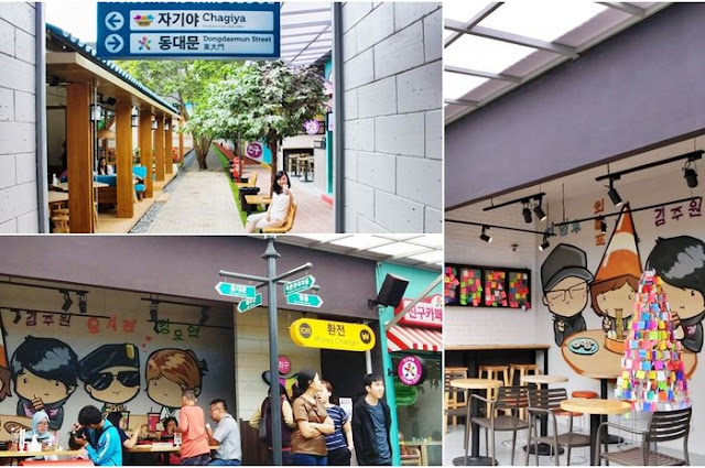 kuliner ala korea di kampung korea