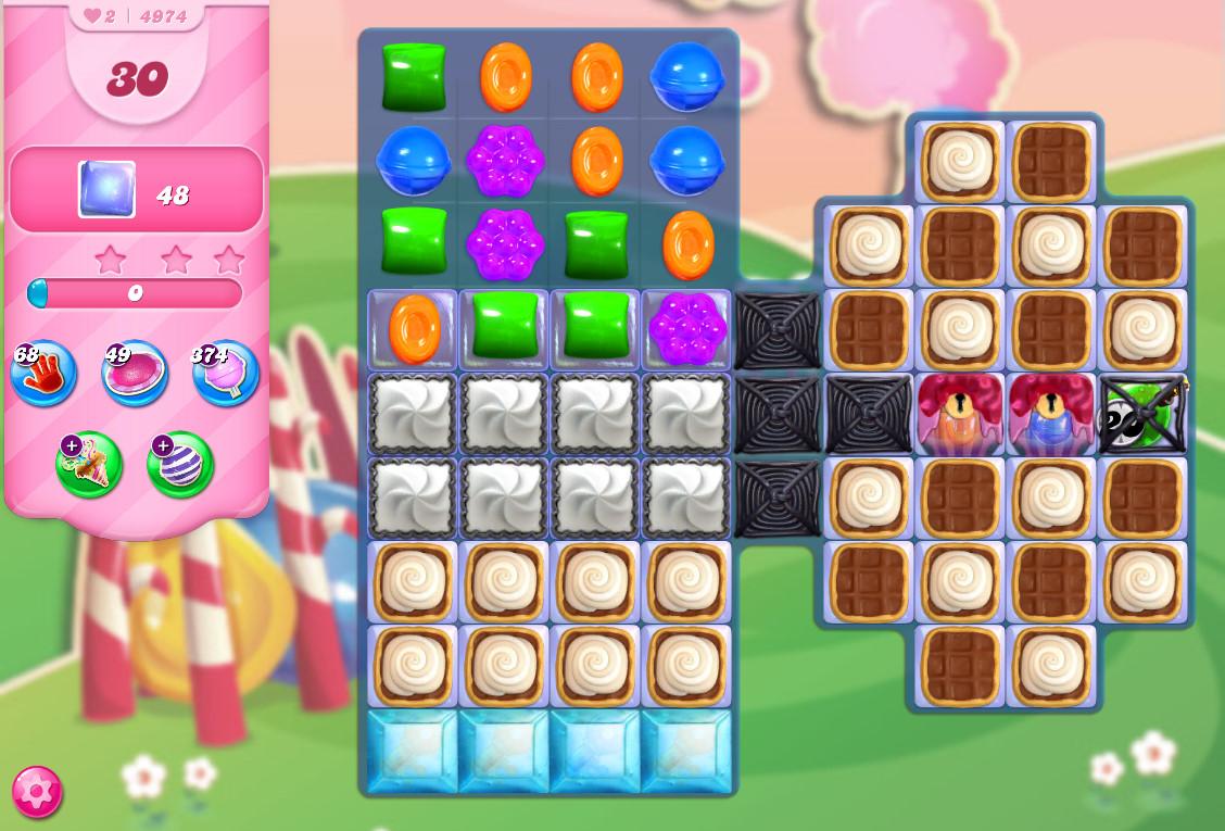 Candy Crush Saga level 4974
