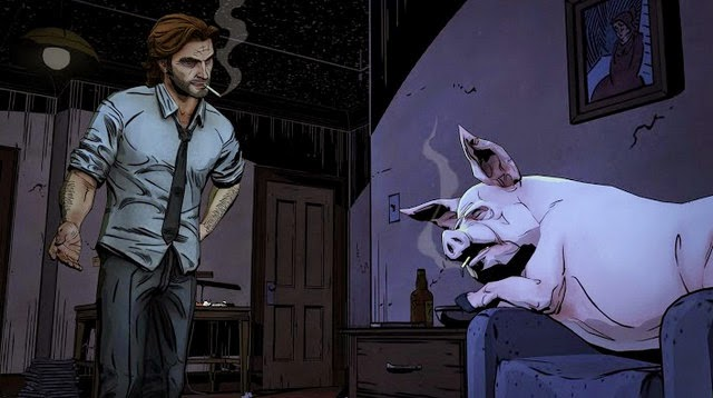 The Wolf Among Us android screenshot