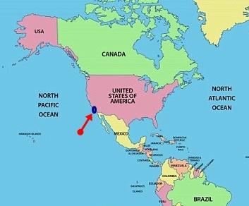 Los Angeles Harita Amerika Birleşik Devletleri